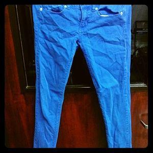 American Eagle skinny jeans.